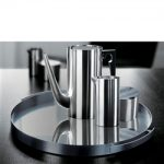 Stelton Cylinda Line Stainless Steel Coffee Set by Arne Jacobsen