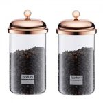 Bodum Chambord Copper Collection Storage Jar 34 oz – Set of 2