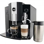 Jura Impressa C9 One Touch Automatic Coffee Center, Black & Chrome
