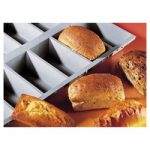 de Buyer Elastomoules Silicone Mini Loaf Mold with Recipe by J. Langillier