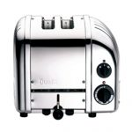 Dualit New Generation Vario 2-Slice Bread Classic Toaster – Chrome