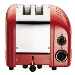 Dualit New Generation Vario 2-Slice Bread Classic Toaster – Red