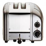 Dualit New Generation Vario 2-Slice Bread Classic Toaster – Charcoal