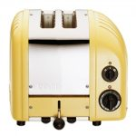 Dualit New Generation Vario 2-Slice Bread Classic Toaster – Canary Yellow