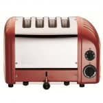 Dualit New Generation Vario 4-Slice Bread Classic Toaster – Red