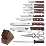 Victorinox Rosewood 12-Piece Knife Block Set