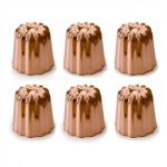 de Buyer Copper Canele Mold, Set of 6