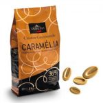 Valrhona Caramelia Milk Chocolate 36% Feves Discs – 6.6 lbs
