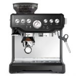 Breville BES870BSXL Upgraded The Barista Express Die-Cast Espresso Machine & Grinder – Black Sesame