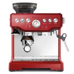 Breville BES870CBXL Upgraded The Barista Express Die-Cast Espresso Machine & Grinder – Cranberry