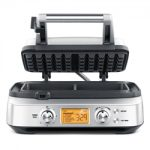 Breville Stainless Steel 2-Slice The Smart Waffle Pro Waffle Maker