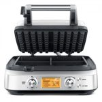 Breville Stainless Steel 4-Slice The Smart Waffle Pro Waffle Maker