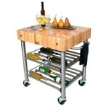 John Boos Cucina D'Amico Wine Cart