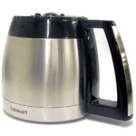 Cuisinart 12-Cup Replacement Thermal Carafe For Use W/DGB-900BC and DGB-2400