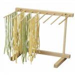 Eppicotispai Natural Beechwood Collapsible Pasta Drying Rack