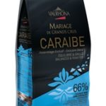 Valrhona Caraibe 66% Dark Chocolate Feves Discs – 6.6 lbs