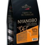 Valrhona Nyangbo 68% Pure Ghana Dark Chocolate Feves Discs – 6.6 lbs