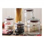 Kilner Push Top Glass Storage Jar Set