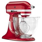 KitchenAid Artisan Design Stand Mixer 5qt – Candy Apple Red