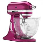 KitchenAid Artisan Design Stand Mixer 5qt – Raspberry Ice