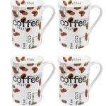 Konitz Coffee Collage Mug 10 oz – Set of 4