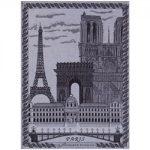 Le Jacquard Francais Paris Mica Tea / Kitchen Towel 24 x 31 (inches)