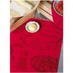 Le Jacquard Francais Tarte Aux Fraises Strawberry Tea / Kitchen Towel 24 x 31 (inches)