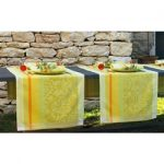 Le Jacquard Francais Provence Lemon Green Table Runner 22 x 106 (inches)
