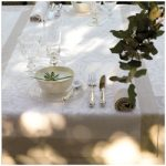 Le Jacquard Francais Venezia Champagne Table Runner 22 x 79 (inches)