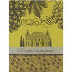Le Jacquard Francais Chateau Tea / Kitchen Towel 24 x 31 (inches), Yellow