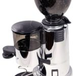 Macap M4 Stepless Burr Coffee Grinder w/Doser, Chrome