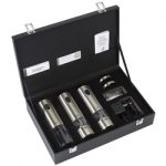 Peugeot Elis TRIO u' Select Stainless Steel Rechargeable Electric Mills & Corkscrew Set