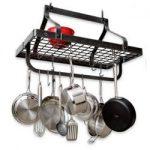 Enclume Gourmet Pot Rack – Hammered Steel