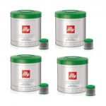 illy iper Espresso Capsules – Decaffeinated (21 count) – Set of 4