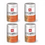 illy Espresso Whole Coffee Bean – Single Origin Ethiopia – Set of 4