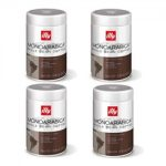 illy Espresso Whole Coffee Bean – Single Origin Brazil – Set of 4